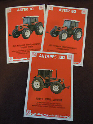 @Vintage Same Tractor Spec Sheets @