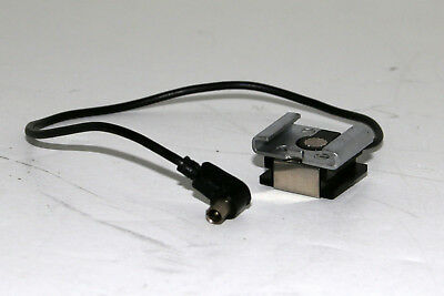 Flash Shoe to PC Cord Adapter in Good Condition