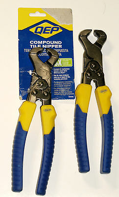 2x Pairs Qep 32035q Compound Tile Nippers