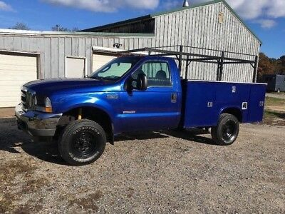 2003 Ford F-350 XLT 2003 FORD F-350 XLT 4X4 UTILITY BODY DIESEL! LOW MILES! MUST SELL!