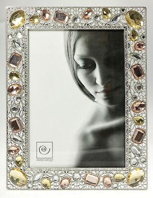 MASCAGNI Picture Frame Table in pewter GEM COLLECTION x photo 13x18 cm