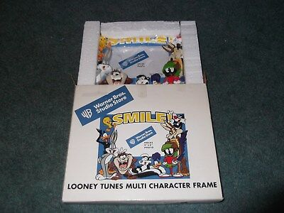 Warner Brothers Store Looney Tunes Character Frame Bugs Marin Daffy Taz pepe