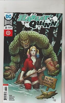 Dc Comics Harley Quinn #38 April 2017 Variant 1St Print Nm