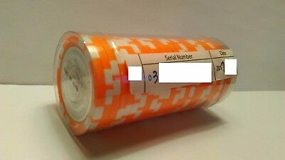 (1) SEALED Roll of 25 MINT Satori Coins - BITCOIN! 0.001 VALUE!