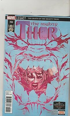 Marvel Comics Mighty Thor #704 April 2017 1St Print Nm