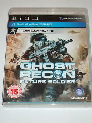 """Tom Clancys Ghost Recon Future Soldier  for PS3 """"FREE UK  P&P"""""""