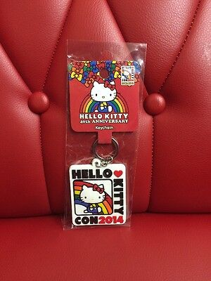 Hello Kitty Con 2014 Key Ring: Logo (HK)