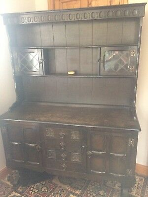 Large Dark Oak Dresser
