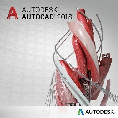 Autodesk AutoCAD 2018 | 3 Years License | Virtually Delivered Instantly