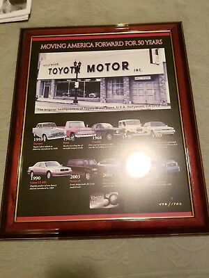 Toyota 50 year picture