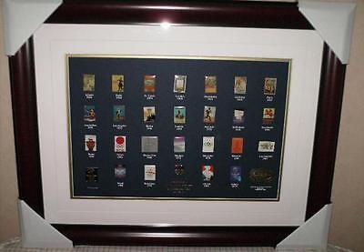 OPC * SYDNEY 2000 OLYMPIC GAMES * Official Poster Collection 1896-2000 Pin Set *