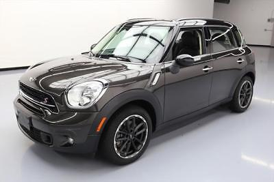 2015 Mini Countryman S Hatchback 4-Door 2015 MINI COOPER COUNTRYMAN S HTD SEATS PANO ROOF 31K #T01733 Texas Direct Auto