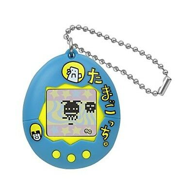 Tamagotchi congratulation 20th anniversary! Tamagotchi Blue (logo) from japan