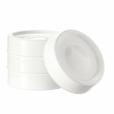 Tommee Tippee Closer to Nature Handy Milk Storage Lids-Pack Of 4