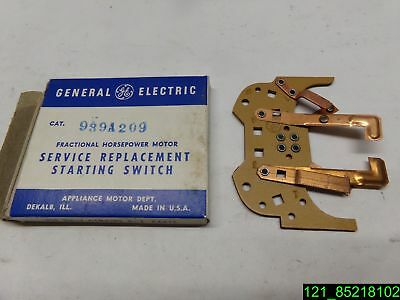 GE General Electric Motor Starting Switch 939A209 , 21 D - NEW