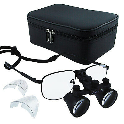 2.5x Magnification Titanium Frame Dental Surgical Loupes Binocular Dentistry
