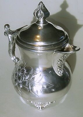Vintage American silver-plated teapot by Cohannet Silver Co