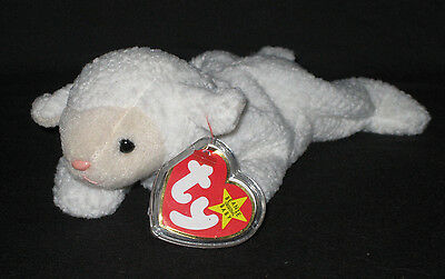 a34be5c2122 TY FLEECE THE LAMB BEANIE BABY - MINT with MINT TAGS -  3.95