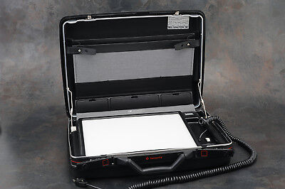 - Matrix Briefcase Portable Light Box/Light Table for Transparency or X-Ray