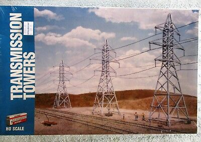 Electricity Transmission Towers x 4 - Kit by Walthers Cornerstone Series - HO