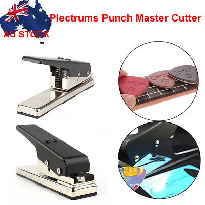 DIY Professional Guitar Plectrum Punch Picks Maker Machine Card Cutter Own Pick