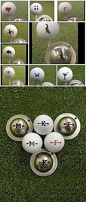1 Only  Tin Cup Golf Ball Marker - Numerous Selections Available, Yours For Life