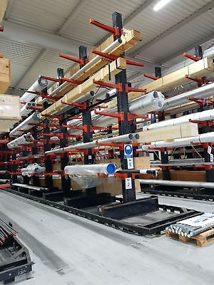 DOUBLE SIDED CANTILEVER RACKING @ Height 5500mm with 800mm plus base
