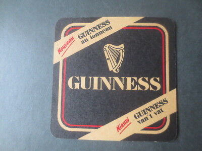 1 only  GUINNESS ,NOUVEAU Issue,  beer  COASTER