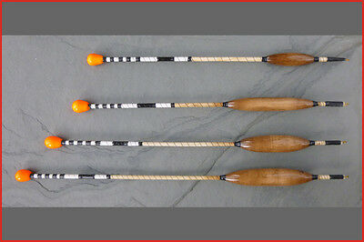Handmade Wind-beater lift fishing floats. EITHER 1,2,3 or 4 SSG. Tench.