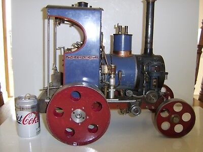 Very Heavy Large Complex Exceptional Quality Engineered Model Steam Train Engine