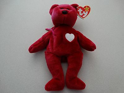 Valentina Beanie Baby ***WITH ERRORS*** Unique! Mint Condition