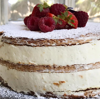 Perfect Classic Cremeschnitte Napoleon Cake Tasty Full Recipe Free Shipping