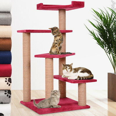 Cat Tree Scratching Post Scratcher Activity Toy Centre 100 cm / 40""