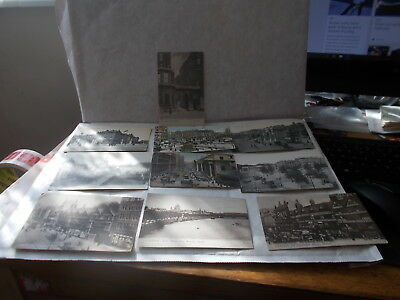 Job Lot  10 Old Postcards With Views Of London