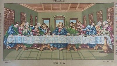 The Last Supper Tapestry Canvas - Gobelin 21.129