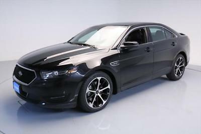 2015 Ford Taurus SHO Sedan 4-Door 2015 FORD TAURUS SHO AWD ECOBOOST VENT LEATHER 20'S 31K #128670 Texas Direct