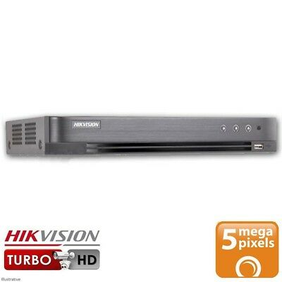 Hikvision DS-7208HUHI-K1 8 Channel Turbo HD Hybrid DVR (5MP, TVI, IP, AHD, 960H)