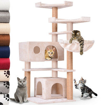 Cat Scratching Post Cat Tree Scrather Pet Toy 126 cm / 50 in