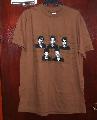 Boyzone Anvil  brown T-shirt (Large size) - never worn
