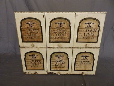 Vtg Pharmacy Medical Chest Hercules Cabinet  478-18P