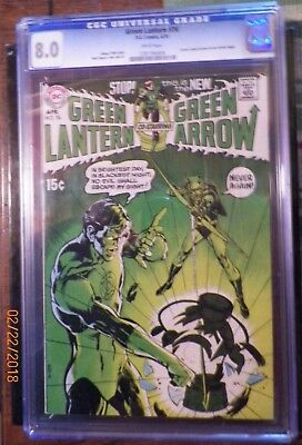 Green Lantern #76 Cgc 8.0 First Appearance Of Green Arrow (Regrade This Comic)
