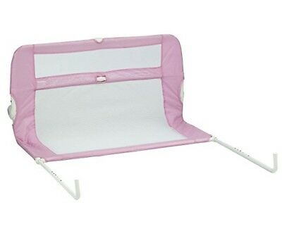 Lindam Safe and Secure Soft folding Bed Rail - Pink