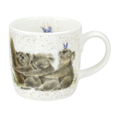 Wrendale Designs Mug by Royal Worcester Fine Bone China in KOALA