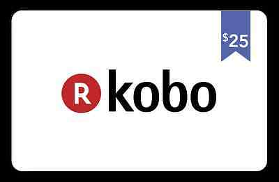 Kobo Gift Card - $25 Mail Delivery