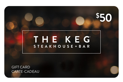 The Keg Steakhouse & Bar Gift Card - $50 Mail Delivery