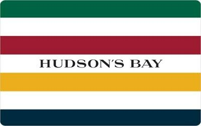 Hudson's Bay Gift Card - $50 Mail Delivery