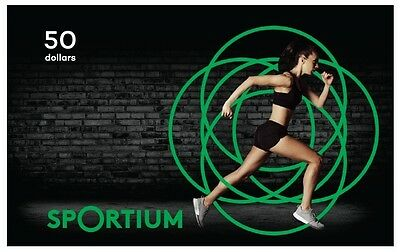 Sportium Gift Card - $50 Mail Delivery