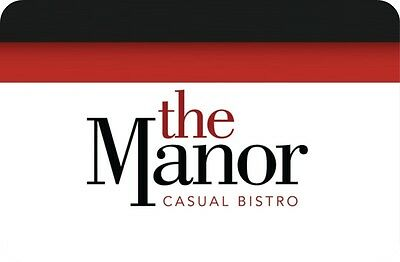 The Manor Casual Bistro Gift Card - $50 Mail Delivery