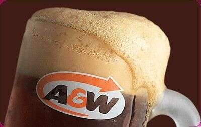 A&W Gift Card - $10 Mail Delivery