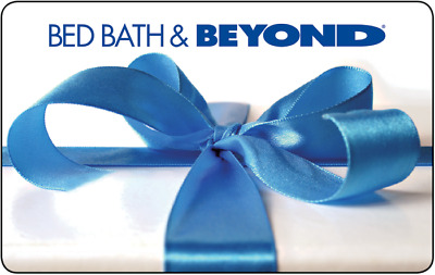 Bed Bath &  Beyond Gift Card - $25 Mail Delivery